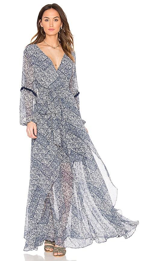 MISA Los Angeles Tula Dress in Blue