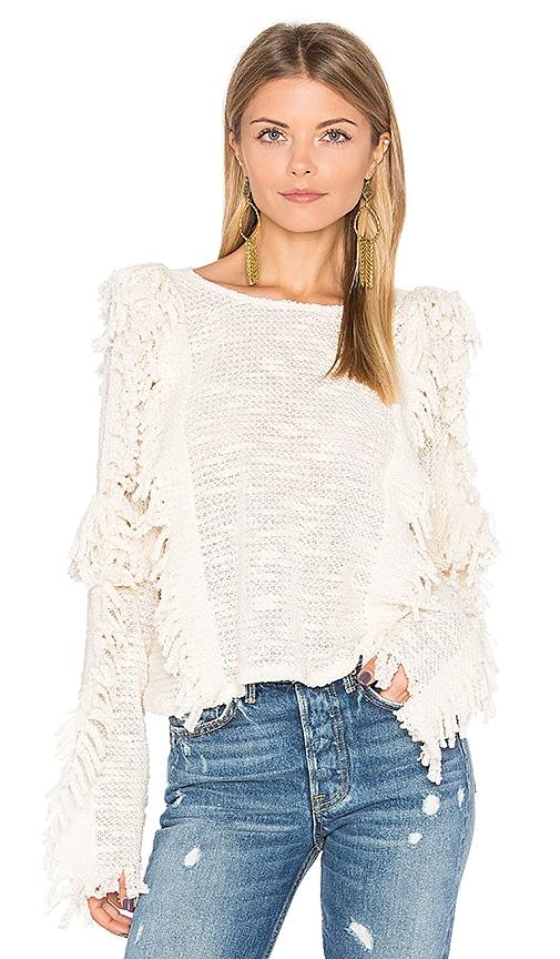 MISA Los Angeles Karine Sweater in White