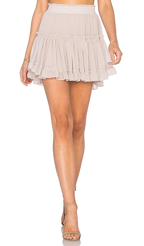 MISA Los Angeles Marion Skirt in Gray