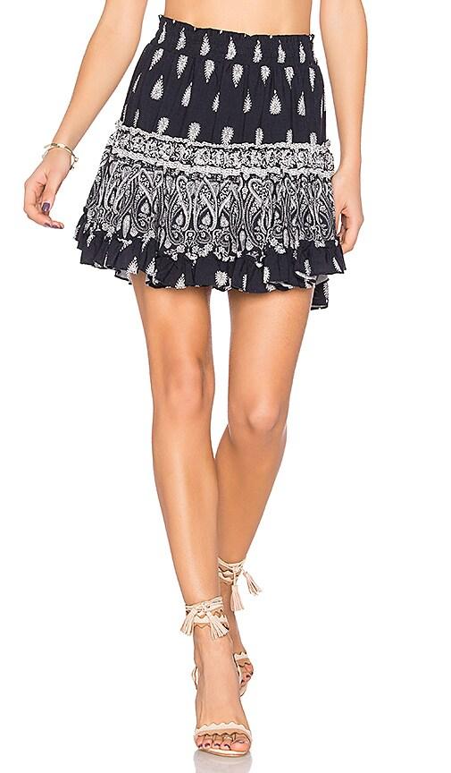 MISA Los Angeles Marion Skirt in Blue