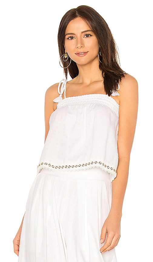 MISA Los Angeles Elena Top in White