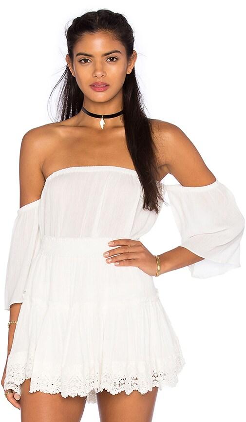 MISA Los Angeles Lillian Top in White