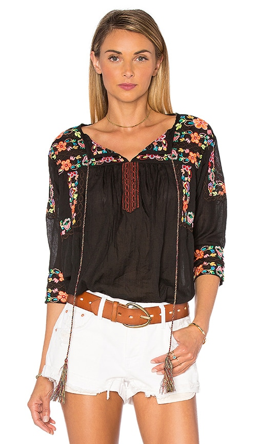 MISA Los Angeles Alix Top in Black
