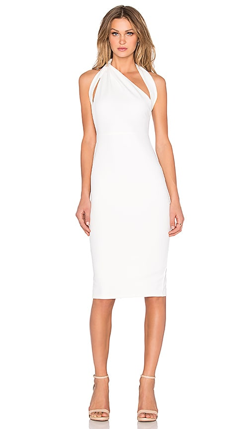 Misha Collection Misu Dress in White