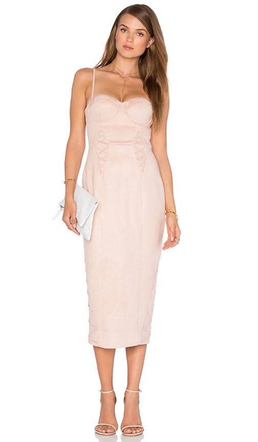 Misha Collection Leia Dress in Blush