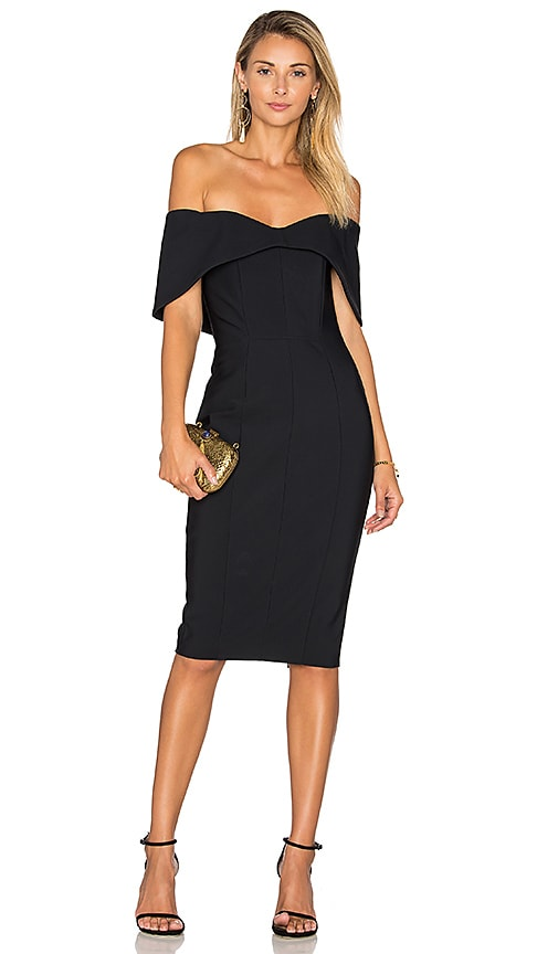 Misha Collection Brooklyn Dress in Black