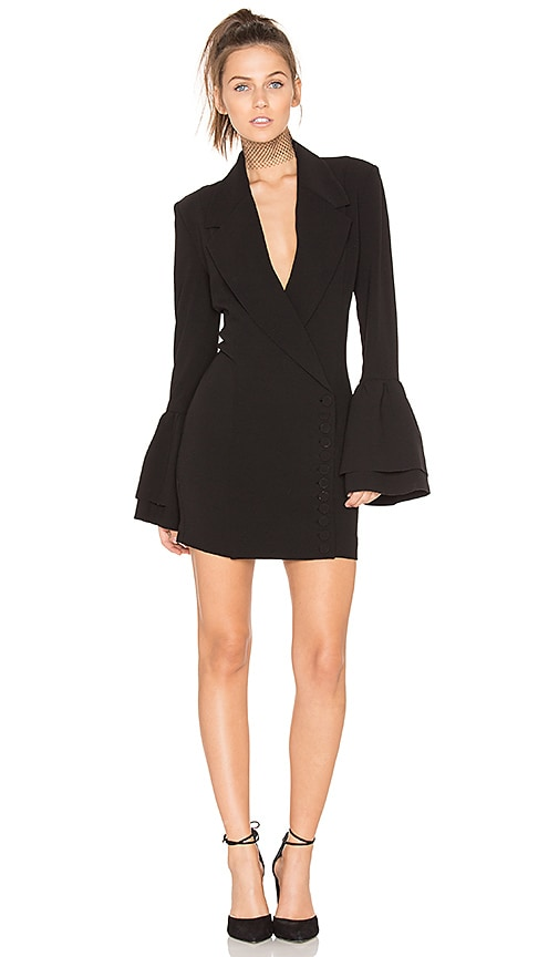 Misha Collection Larrisa Blazer Dress in Black
