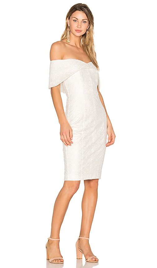 Misha Collection Tammy Dress in Ivory