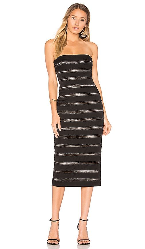 Misha Collection Agnetta Dress in Black