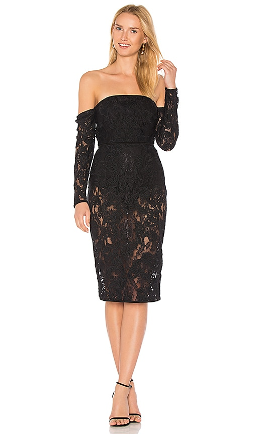 Misha Collection Sierra Dress in Black