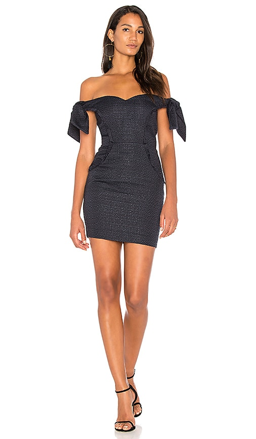 MISHA COLLECTION Dahlia Dress in Navy