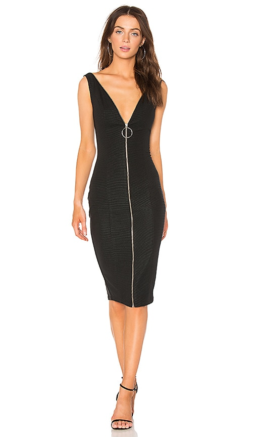 Misha Collection Lois Dress in Black