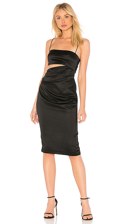 Selina Dress in Black. - size 0 (also in 2,4,6,8) Misha Collection