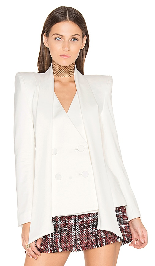 Misha Collection Ellena Blazer in Ivory