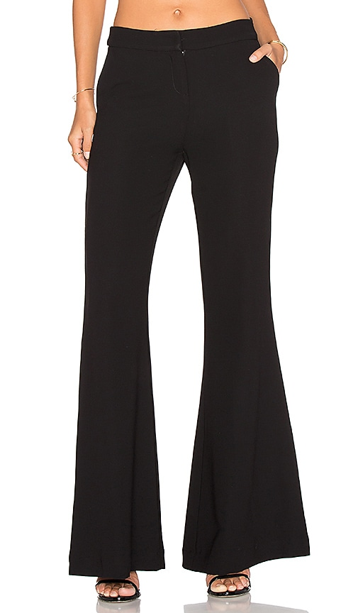 Misha Collection Jania Super Wide Leg Pant in Black