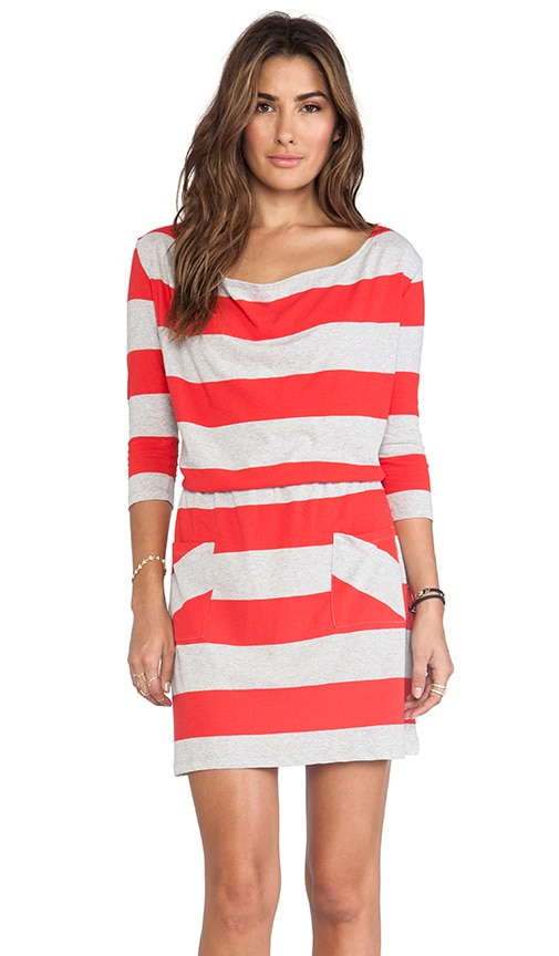 Wide Stripe Cassandra Dress