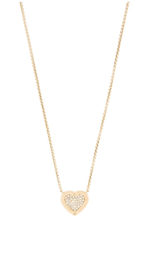 9329ae911336 Heart Pendant Necklace. Heart Pendant Necklace. Michael Kors