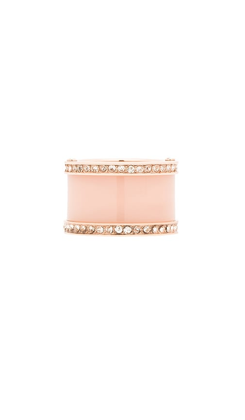Michael Kors Barrel Ring in Rose Gold