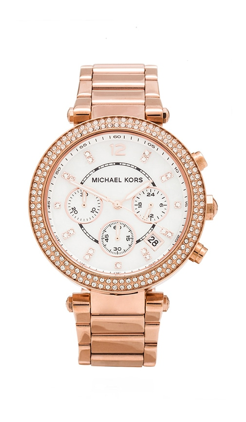 Michael Kors Parker Watch in Rose