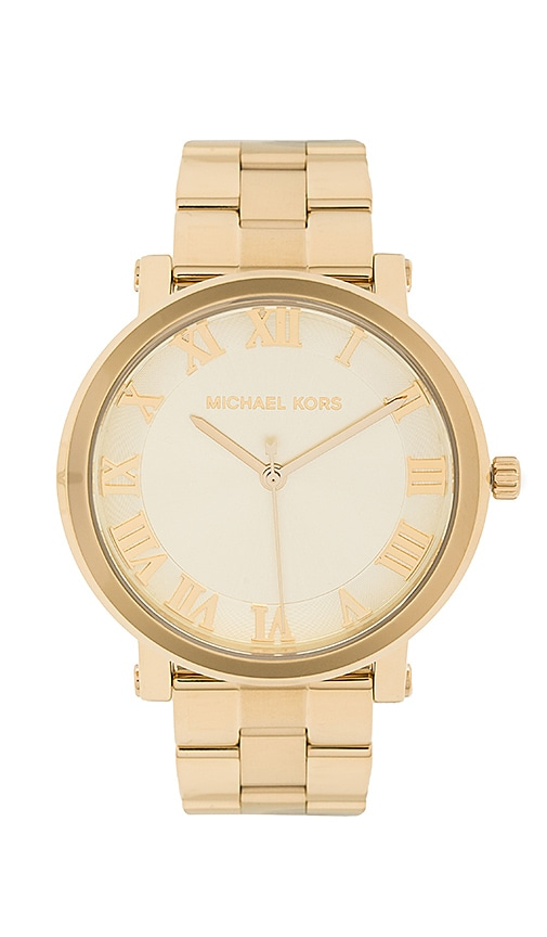 Michael Kors Norie Watch in Metallic Gold