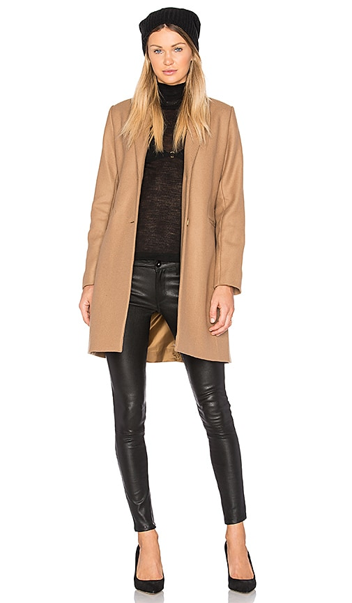 MKT studio Massini Coat in Tan