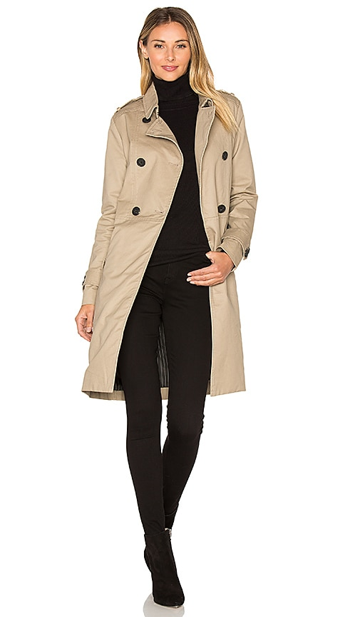 MKT studio Motiri Trench Coat in Tan