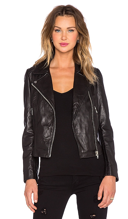 MKT studio Vielson Moto Jacket in Black