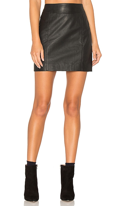 Jalpa Leather Skirt