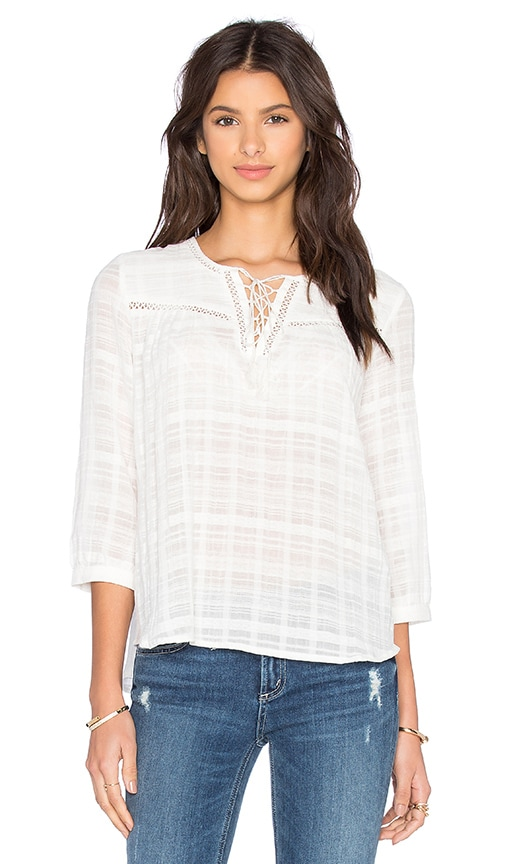 MKT studio Hector Top in White