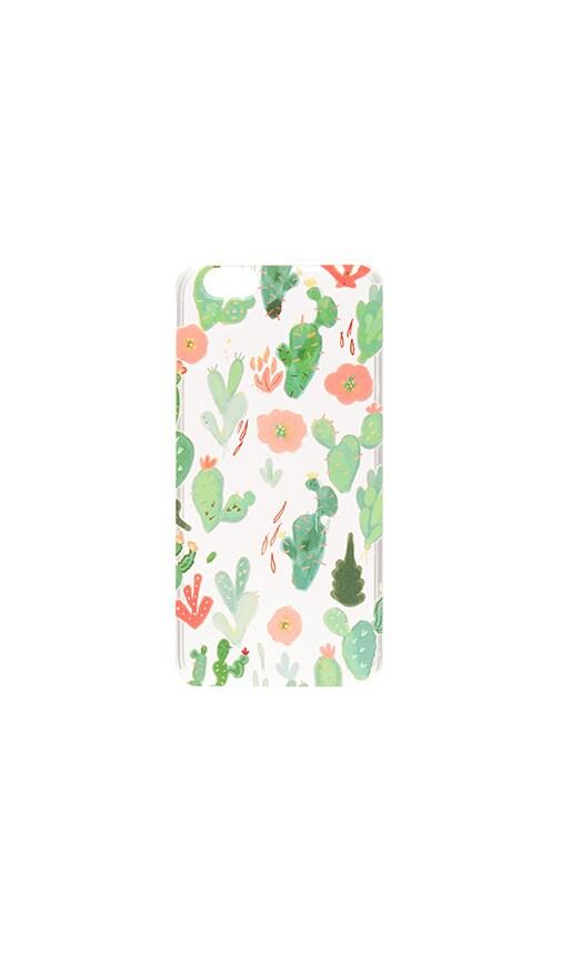 Milkyway Cases Watercolor Cactus iPhone 6/6s Case in Green