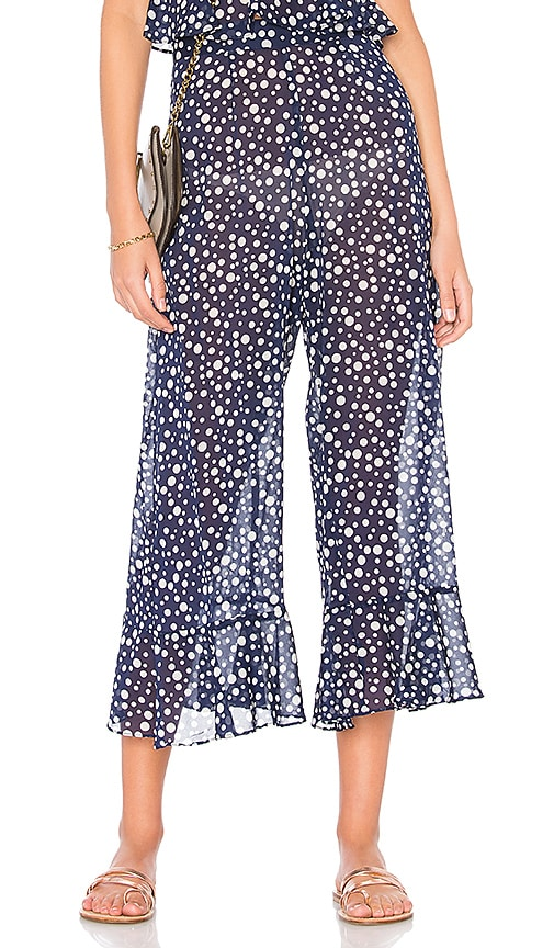 MORGAN LANE Izabel Pant in Navy