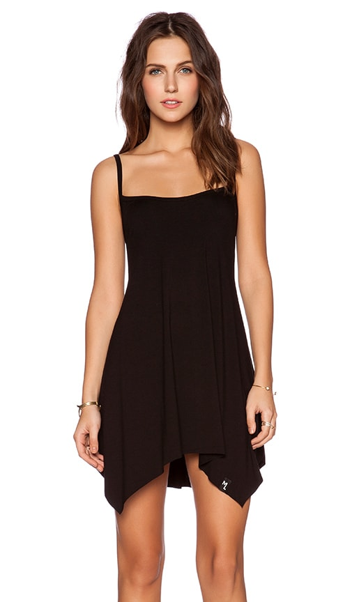 Michael Lauren Lang Tunic Dress in Black