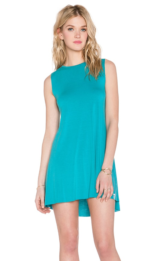 Michael Lauren Gilly Sleeveless Dress in Lagoon