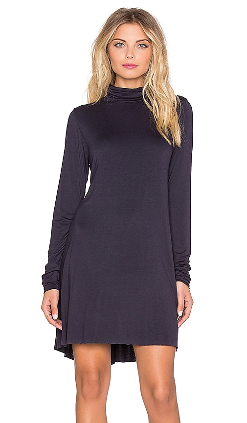 Leo Turtleneck Mini Dress