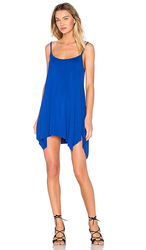 Michael Lauren Lang Tunic Dress in Blue
