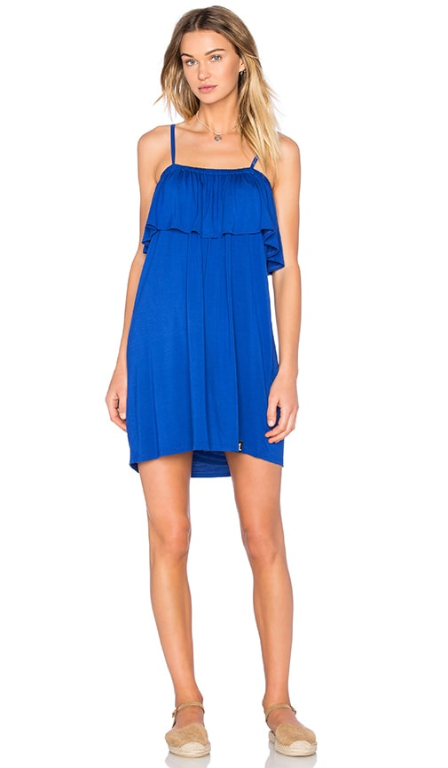 Michael Lauren Brando Dress in Blue