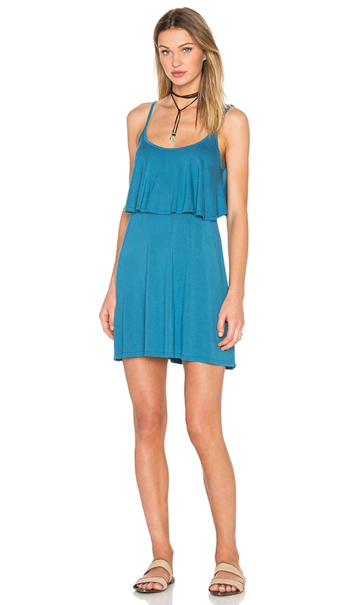 Michael Lauren Marlow Fiesta Dress in Blue