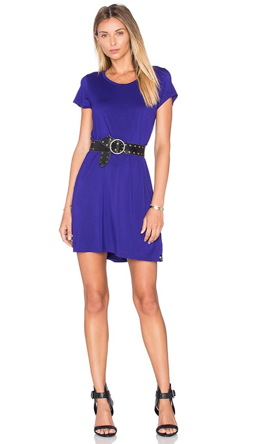Michael Lauren Cuba Mini Dress in Purple