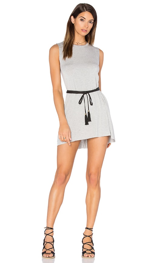 Michael Lauren Gilly Dress in Gray