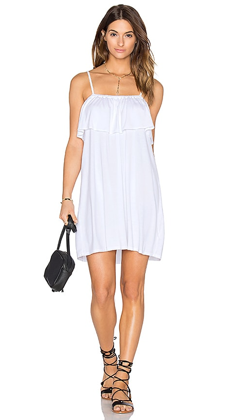 Michael Lauren Brando Dress in White
