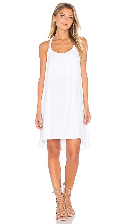 Michael Lauren Enrico Dress in White