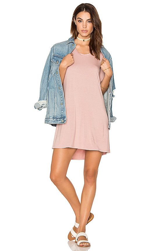 Michael Lauren Michal Mini Dress in Pink