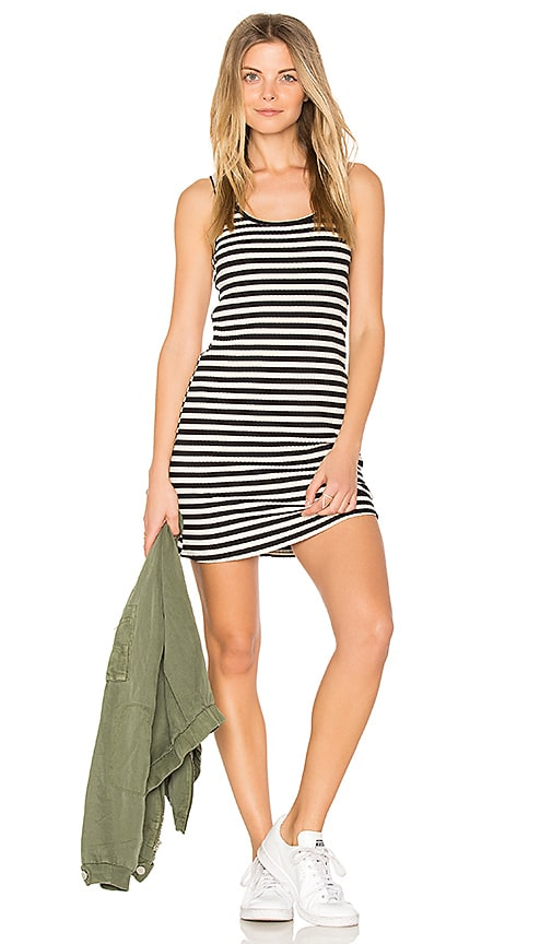 Michael Lauren Rory Tank Dress in Black