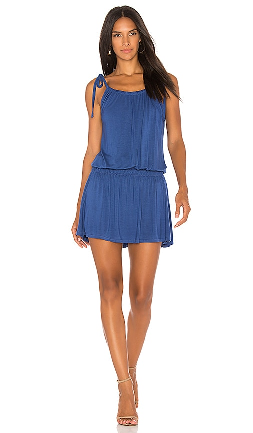 Michael Lauren Kentmore Dress in Blue