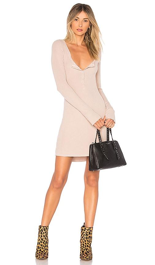 MICHAEL LAUREN Giller Dress in Taupe