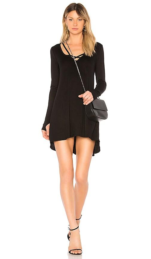 Michael Lauren Leroy Dress in Black
