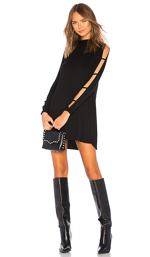 Akila Slit Sleeve Dress