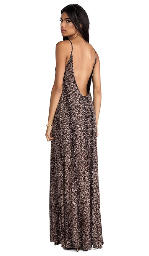Gage Deep Back Maxi Dress