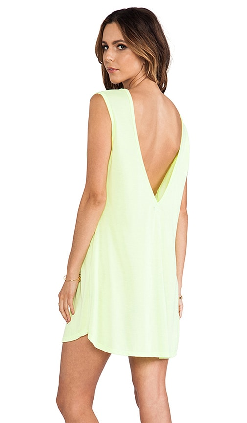 Lazer Deep V Tank Dress