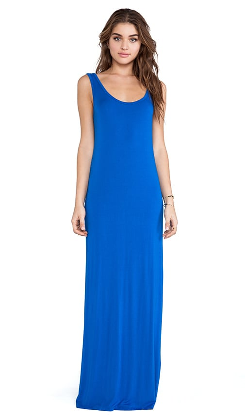 Langley Deep V Back Maxi Dress
